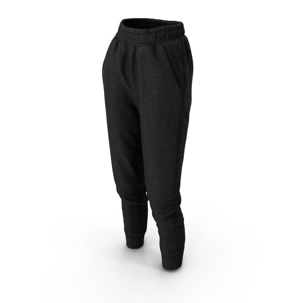 Thumbnail for Women's Pants Black