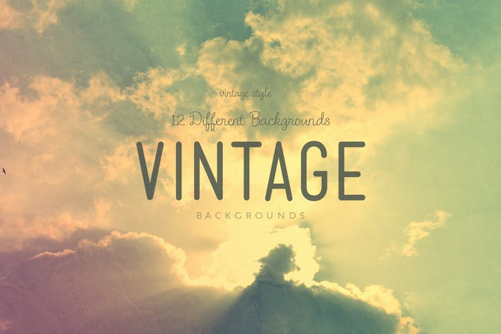 Thumbnail for Vintage Sky Backgrounds