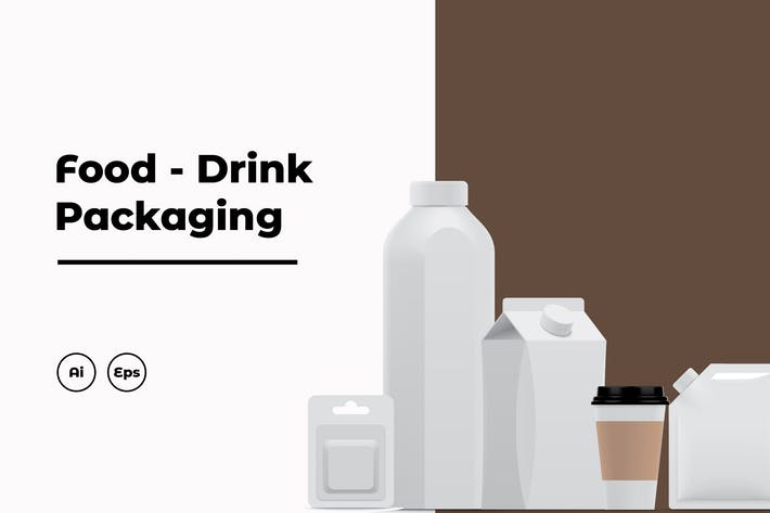 Thumbnail for Food and Drink Packaging Collection