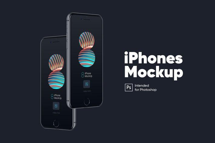 Thumbnail for iPhone Mockup Space Gris