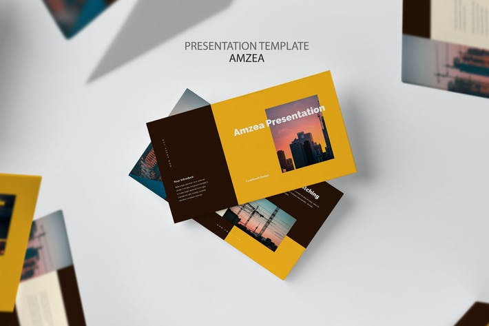 Thumbnail for Amzea : Construction Project Powerpoint