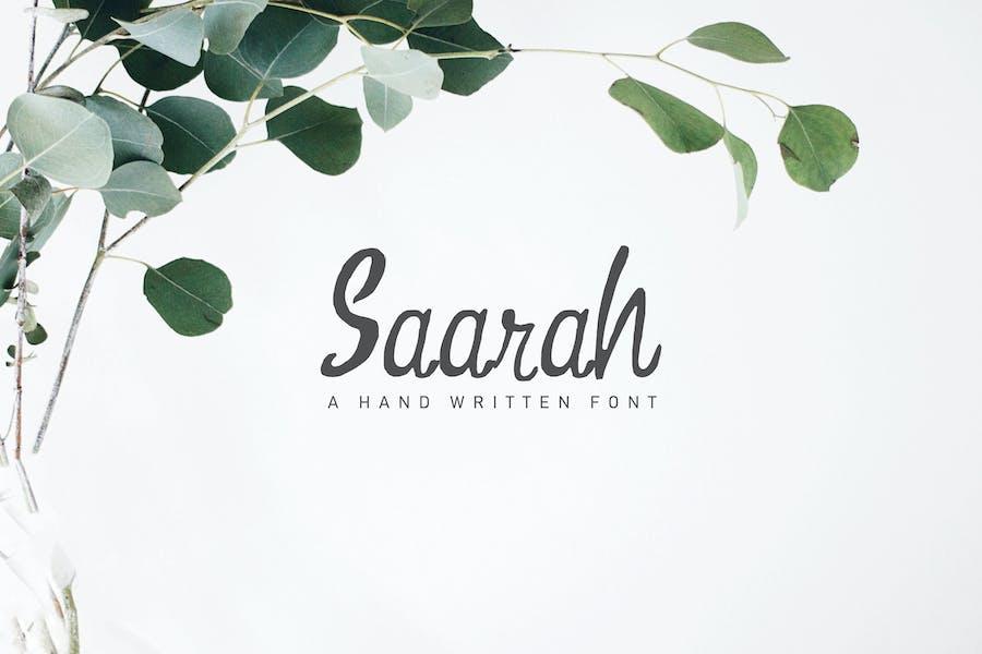 Fuente fresca hecha a mano Saarah