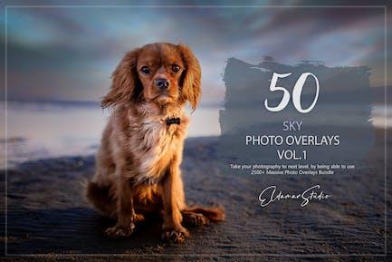 50 Sky Photo Overlays - Vol. 1