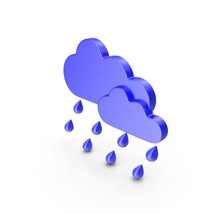 Rain Meteorology Symbol