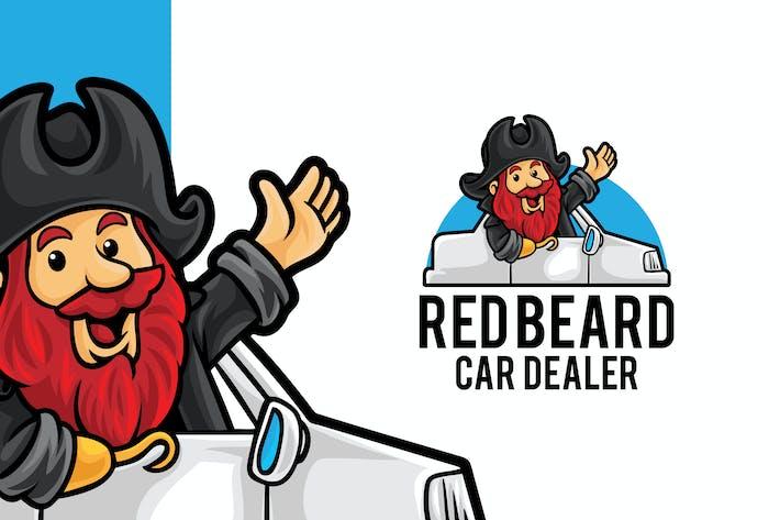Thumbnail for Car Dealer Store Logo Mascot Template