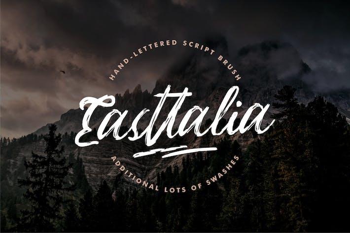 Thumbnail for Eastallia | Hanbrush Script