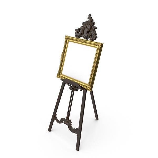 Baroque Tripod and Picture