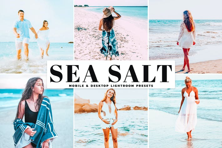 Thumbnail for Sea Salt Mobile & Desktop Lightroom Presets