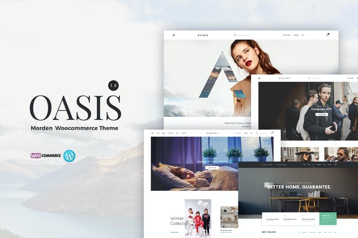 Thumbnail for Oasis - Modern WooCommerce Theme