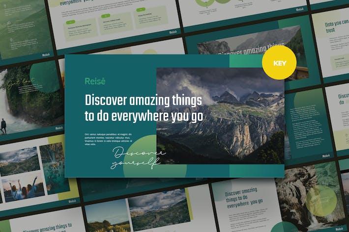 Thumbnail for REISE - Nature & Travel Keynote Template