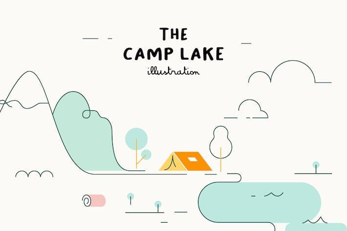 Thumbnail for ILLUSTRATION - The Camp Lake