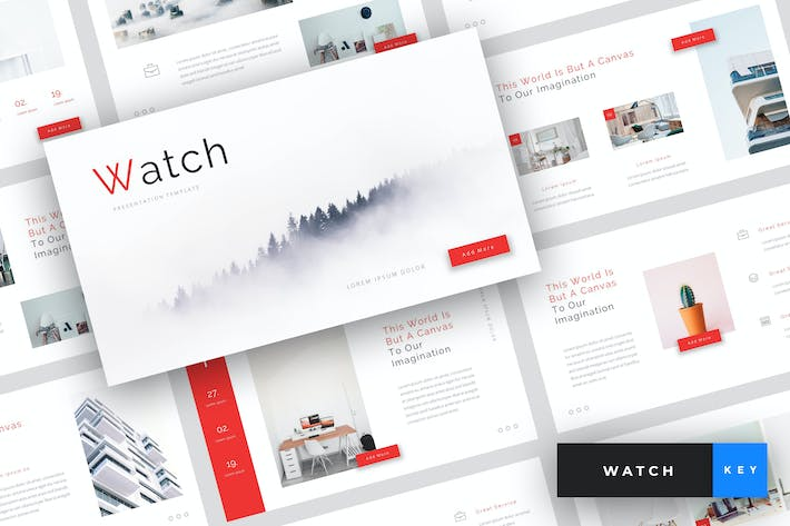 Thumbnail for Watch - Creative Keynote Template