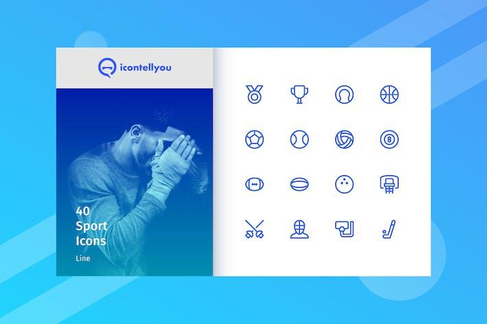 Thumbnail for Icontellyou - Deporte (Línea)