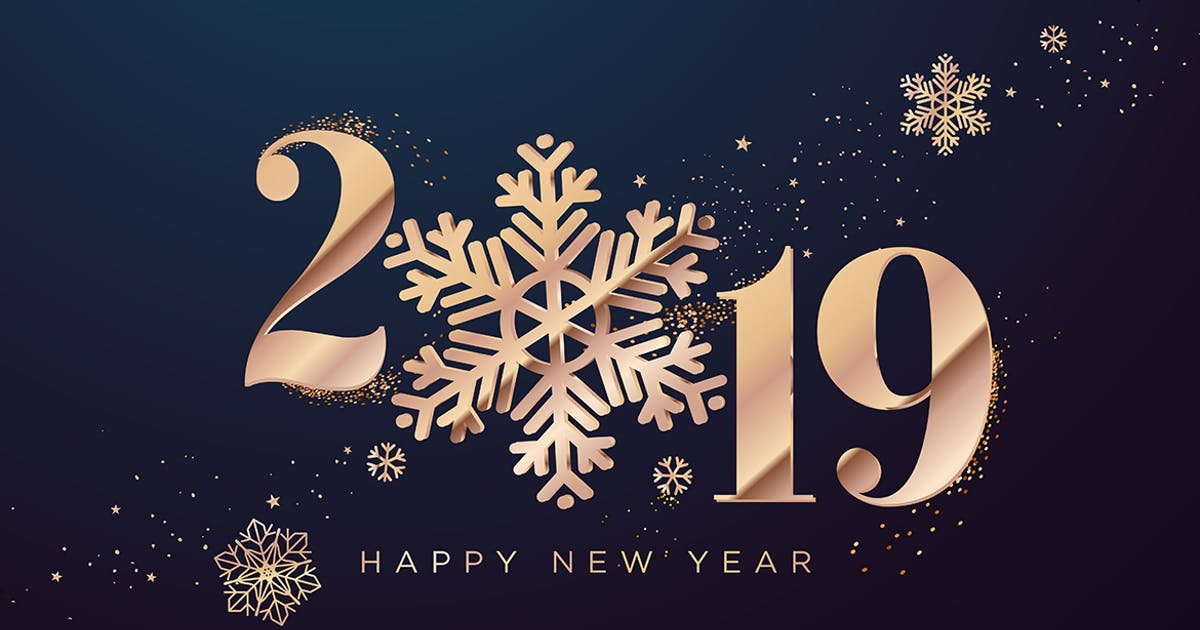 Download Happy New Year 2019 by PureSolution
