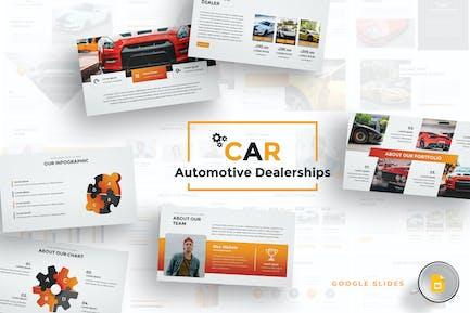 Car Dealerships Google Slides Template