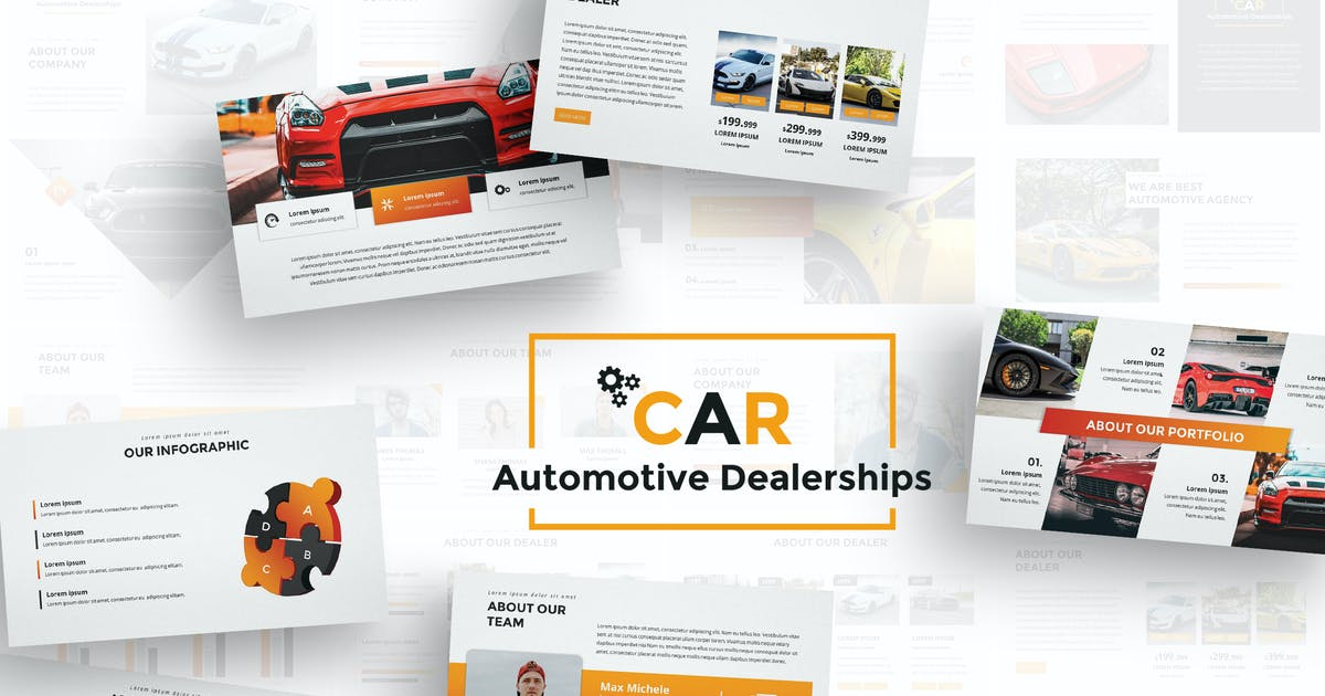Download Car Dealerships Google Slides Template by Unknow