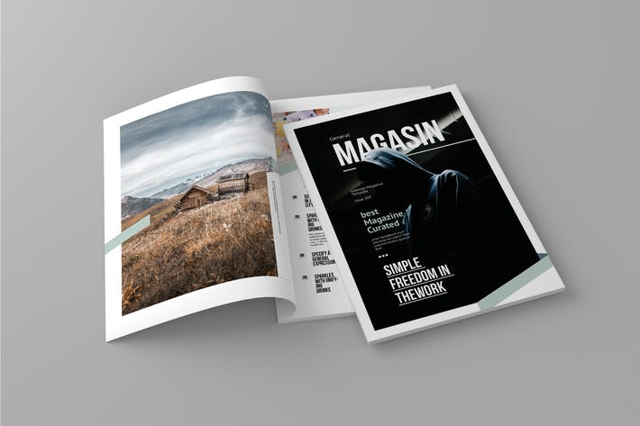 Cover Image For Magasin - Magazine Template