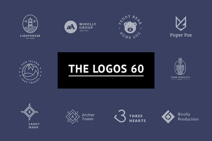 Cover Image For The Logos 60