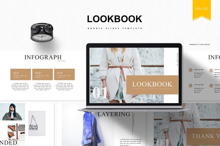 Cover Image For Lookbook | Google Slides Template