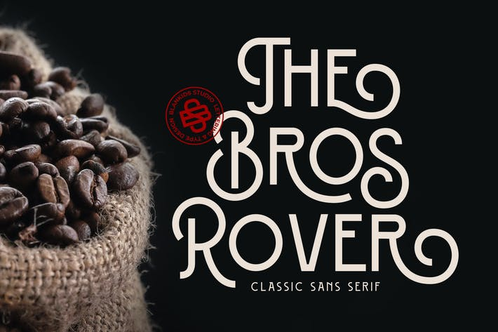 Thumbnail for Bros Rover - Classy Sans Serif