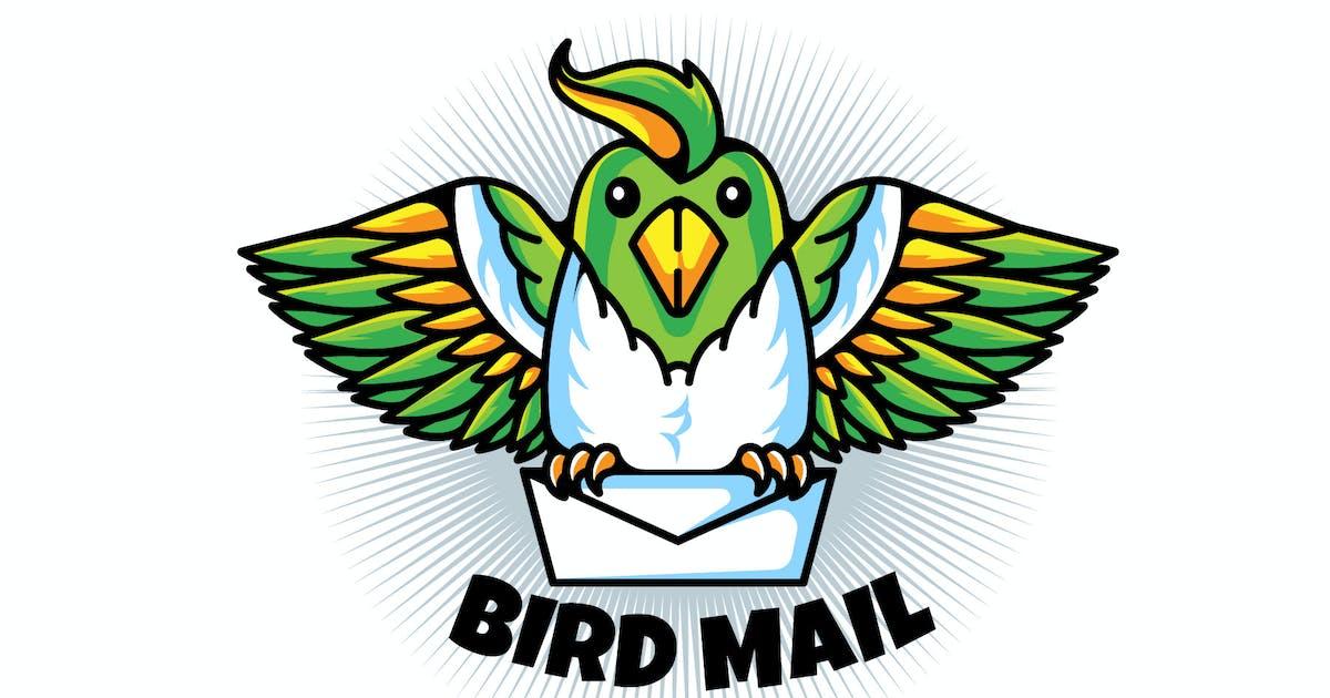 Download Brid Mail - Mascot & Esport Logo by aqrstudio