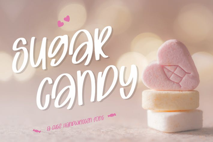 Thumbnail for Sugar Candy - Sweet and Quirky Font
