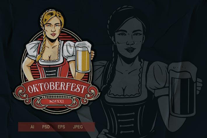 Thumbnail for Vintage Emblem - Oktoberfest V1