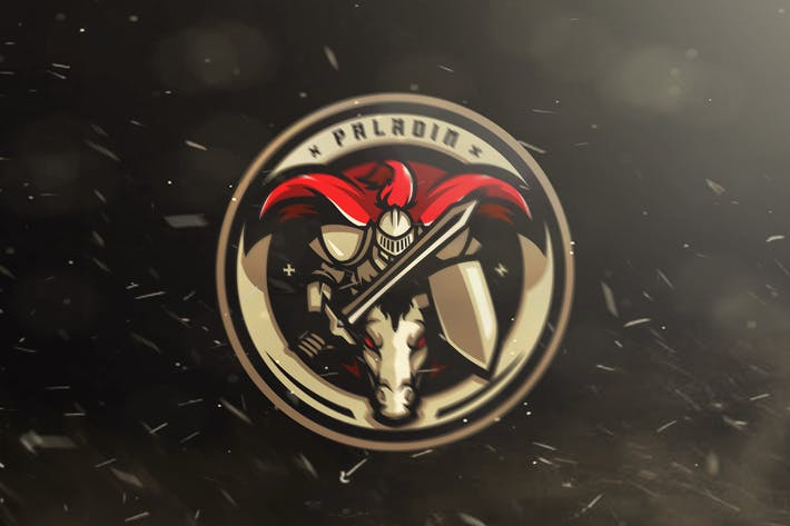 Thumbnail for Paladin E - Sports Logo