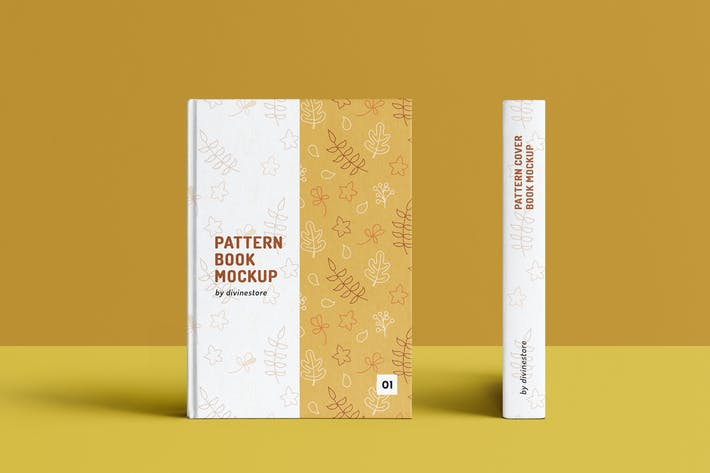 Thumbnail for Pattern Cover Book Mockup