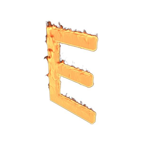 Thumbnail for Fire Letter E