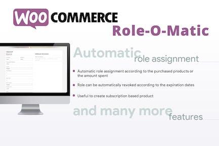 WooCommerce Role O-Matic