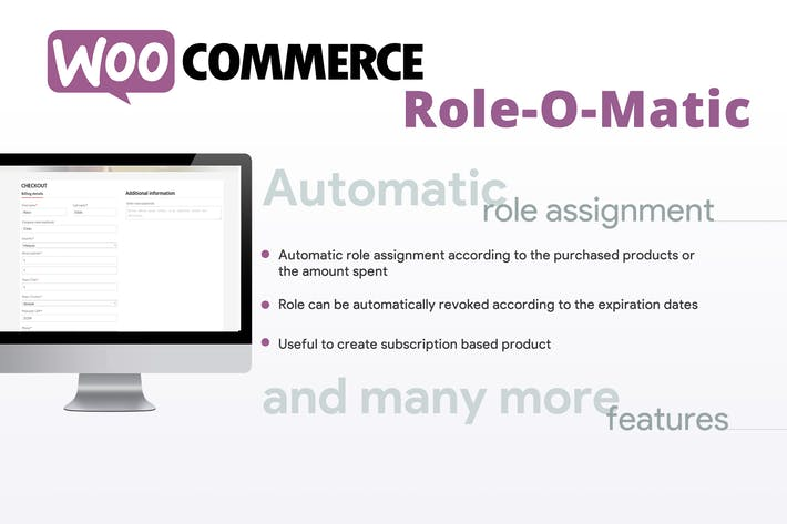 Thumbnail for WooCommerce Role-O-Matic
