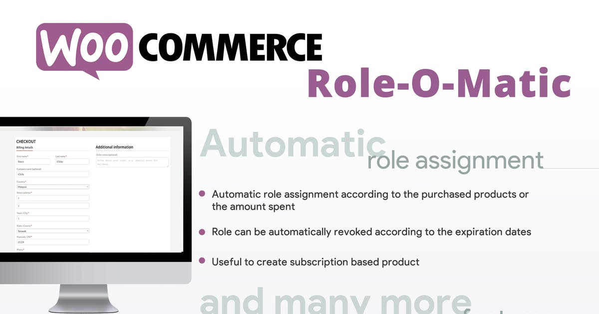 Download WooCommerce Role-O-Matic by vanquish