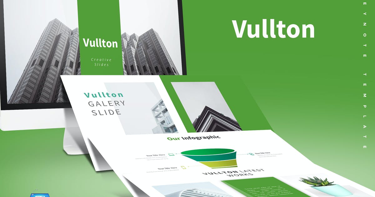 Download Vullton - Keynote Template by aqrstudio
