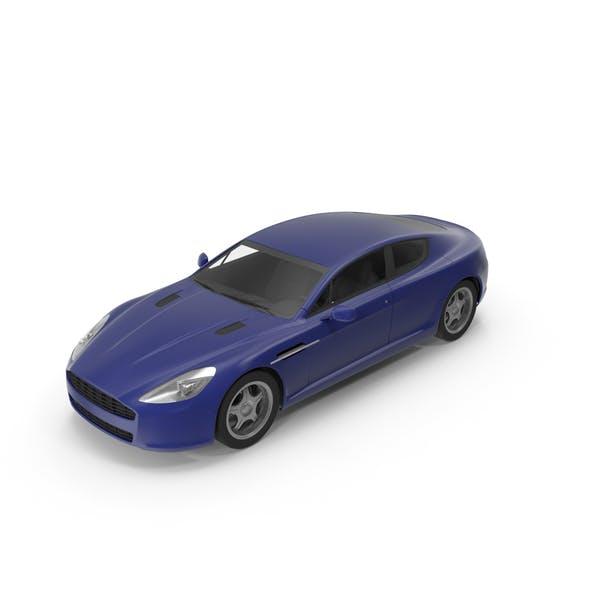 Автомобиль Темно-синий