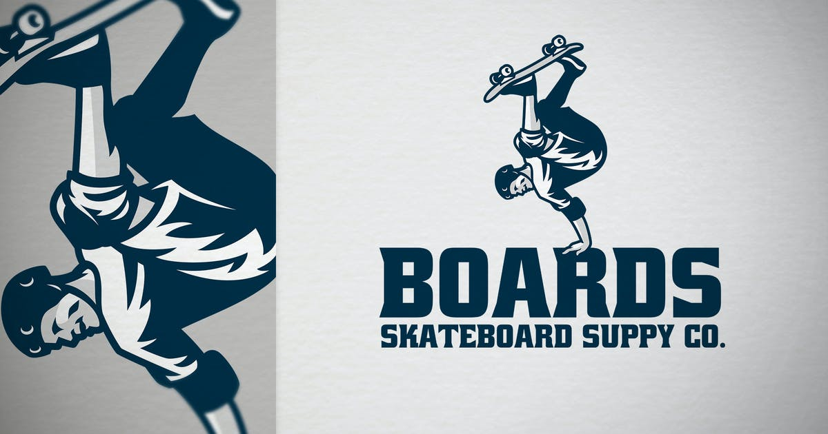 Download Skateboarder skateshop logo by bazzier