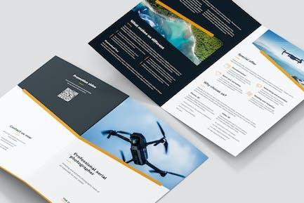 Brochure – Drone Photographer Bi-Fold