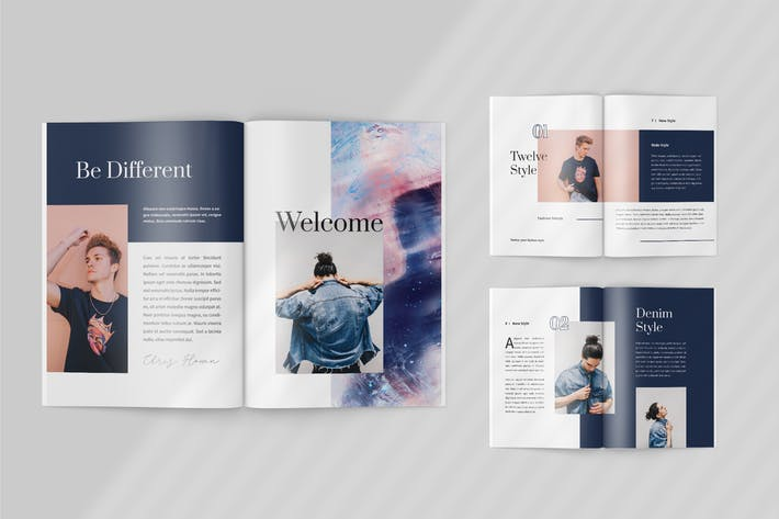 Thumbnail for Twelve - Fashion Lookbook Template