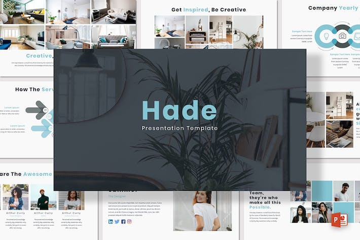 Thumbnail for Hade - Powerpoint Template