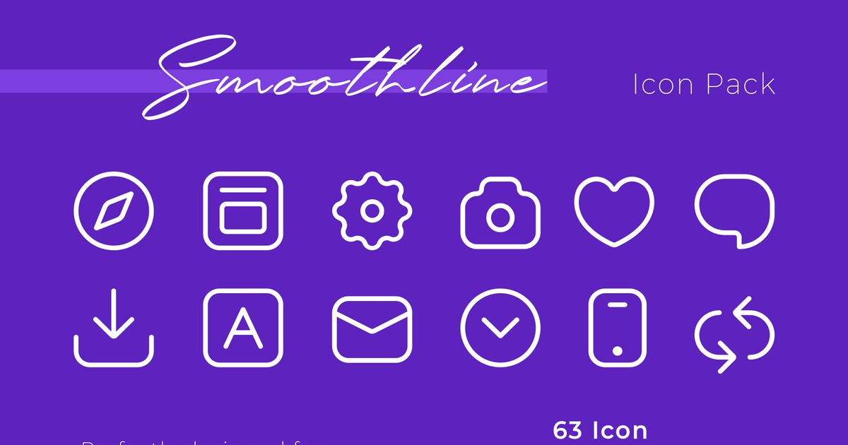 Download Smoothline Icon Pack by brandio