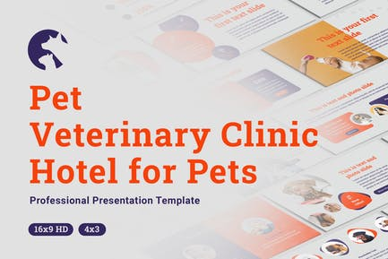 Pets and Veterinary Clinic Keynote Template