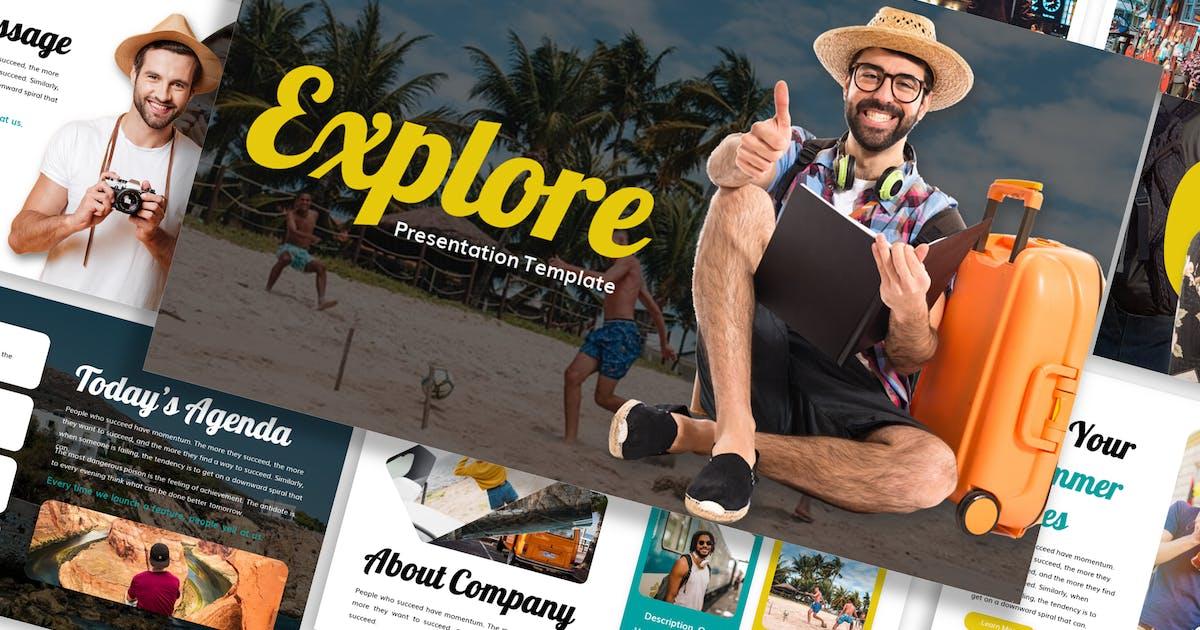 Download Explore - Traveling Template Prensentation by Blesstudio