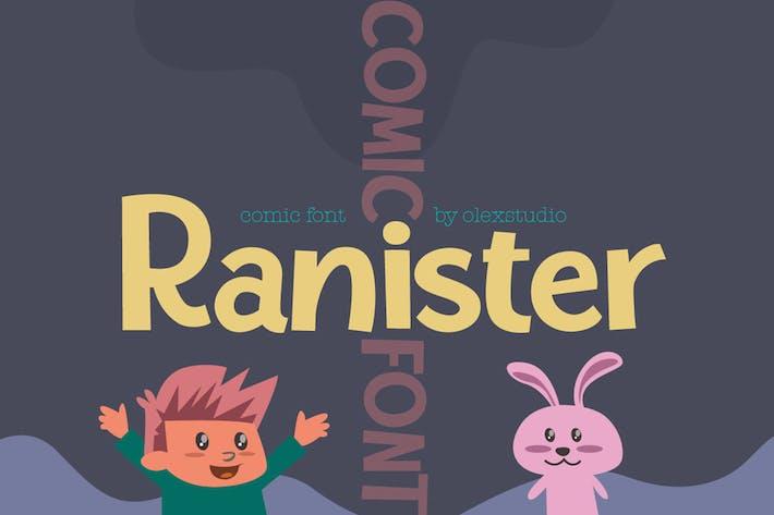 Thumbnail for COMIC FONT - RANISTER