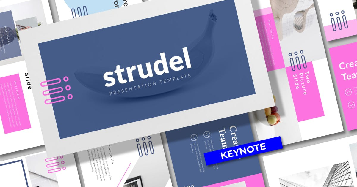 Download Strudel Business Keynote Template - LS by templatehere