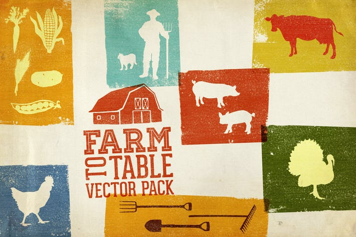 Thumbnail for Farm to Table Vector Pack Volume 1