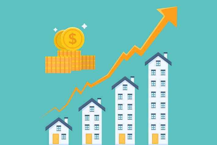 Thumbnail for Real Estate Investment Graph Illustration