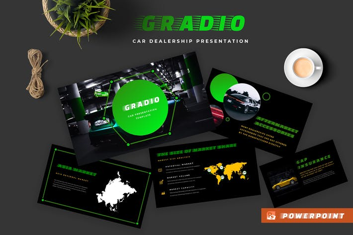 Thumbnail for Gradio Car Dealership Powerpoint Presentation