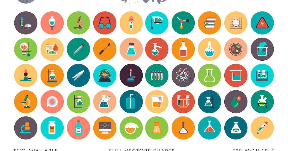 Download 50 Laboratory icons by Unknow