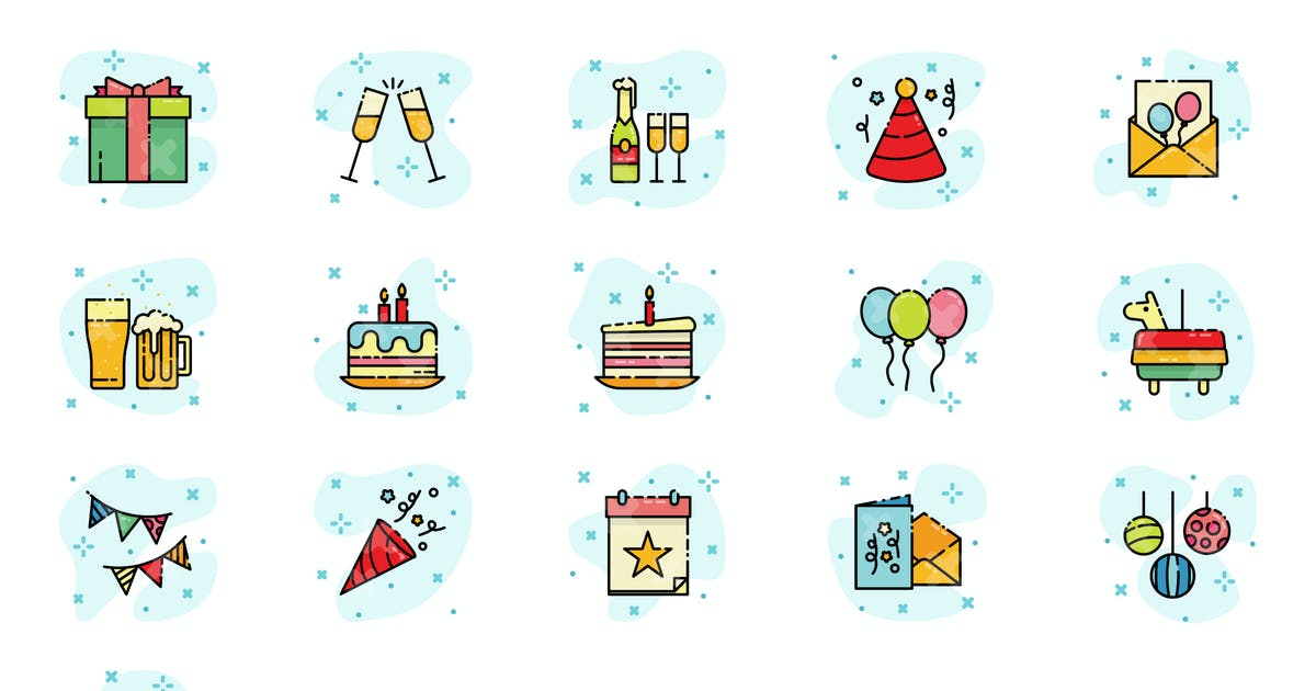 Download Birthday Party Icon by vintagio