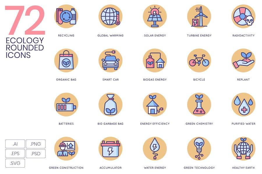 Ökologie Icons